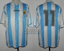 Argentina - 1994 - Home - Adidas - Friendly vs Israel - R. Medina Bello