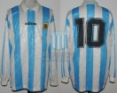 Argentina - 1994 - Home - Adidas - Friendly vs Marruecos - D. Maradona