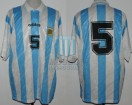 Argentina - 1994 - Home - Adidas - Friendly vs Romania League - H. Perez