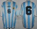 Argentina - 1994 - Home - Adidas - Friendly vs Yugoslavia - N. Fabbri