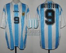 Argentina - 1994 - Home - Adidas - R16 USA WC vs Rumania - G. Batistuta