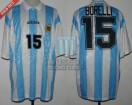 Argentina - 1994 - Home - Adidas - USA WC vs Nigeria - J. Borelli