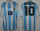 Argentina - 1994 - Home - Adidas - USA WC vs Nigeria (ST) - D. Maradona