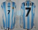 Argentina - 1995 - Home - Adidas - Uruguay Copa America - A. Balbo