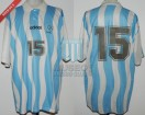 Argentina - 1995 - Home - Adidas - Final Juegos Panamericanos vs Mexico - C. Husain