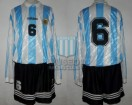 Argentina - 1995 - Home - Adidas - Friendly vs Australia - F. Caceres