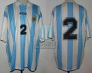 Argentina - 1995 - Home - Adidas - Friendly vs Brasil - R. Trotta