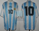 Argentina - 1995 - Home - Adidas - Friendly vs Bulgary - M. Gallardo