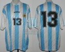 Argentina - 1995 - Home - Adidas - Friendly vs Bulgary - J. Sorin
