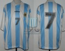 Argentina - 1995 - Home - Adidas - Friendly vs Spain - A. Balbo