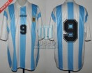 Argentina - 1995 - Home - Adidas - Friendly vs Spain - G. Batistuta