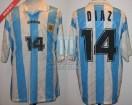 Argentina - 1995 - Home - Adidas - Qatar U20 WC - C. Diaz