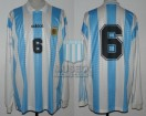 Argentina - 1995 - Home - Adidas - QF Uruguay Copa America vs Brasil - F. Caceres