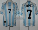 Argentina - 1996 - Home - Adidas - Final Atlanta Olympic Games vs Nigeria - C. Lopez