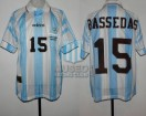 Argentina - 1996 - Home - Adidas - Final Atlanta Olympic Games vs Nigeria - C. Bassedas