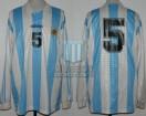 Argentina - 1996 - Home - Adidas - Mar del Plata Pre Olympic - M. Almeyda