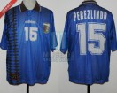 Argentina - 1997 - Away - Adidas - Final U20 Malaysia WC vs Uruguay - M. Perezlindo