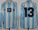Argentina - 1997 - Home - Adidas - Bolivia Copa America - J. Martinez