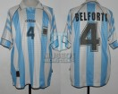 Argentina - 1997 - Home - Adidas - Final Sudamericano U17 vs Brasil - J. Belforti