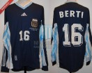 Argentina - 1998 - Away - Adidas - France WC vs England - S. Berti