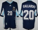 Argentina - 1998 - Away - Adidas - France WC vs England - M. Gallardo