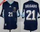 Argentina - 1998 - Away - Adidas - France WC vs England - M. Delgado