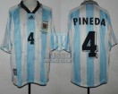 Argentina - 1998 - Home - Adidas - QF France WC vs Holland - M. Pineda