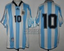 Argentina - 1998 - Home - Adidas - Friendly vs Brasil - A. Ortega