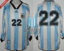 Argentina - 1998 - Home - Adidas - Friendly vs South Africa - J. Zanetti