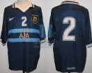 Argentina - 1999 - Away - Reebok - Friendly vs USA - R. Ayala