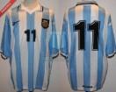 Argentina - 1999 - Home - Reebok - Copa America vs Brasil - G. Lopez