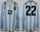 Argentina - 1999 - Home - Reebok - Copa America vs Uruguay - J. Riquelme