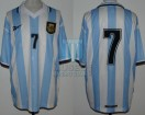 Argentina - 1999 - Home - Reebok - Friendly vs Mexico - G. Lopez