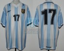 Argentina - 2000 - Home - Reebok - Qualy Korea/Japan WC vs Venezuela - G. Lopez