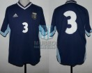 Argentina - 2001 - Away - Adidas - Qualy Korea/Japan WC vs Uruguay - J. Sorin