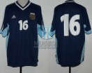 Argentina - 2001 - Away - Adidas - Qualy Korea/Japan WC vs Uruguay - P. Aimar