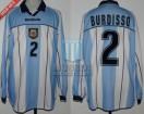 Argentina - 2001 - Home - Reebok - U20 Argentina WC Campeon - N. Burdisso