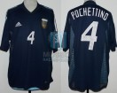 Argentina - 2002 - Away - Adidas - Korea / Japan WC vs Nigeria - M. Pochettino