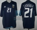 Argentina - 2002 - Away - Adidas - Korea/Japan WC vs Sweden - C. Caniggia