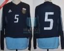 Argentina - 2002 - Away - Adidas - Friendly - M. Almeyda