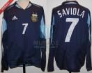 Argentina - 2004 - Away - Adidas - Copa America vs Uruguay - J. Saviola
