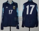 Argentina - 2004 - Away - Adidas - U20 Friendly vs Uruguay - L. Messi