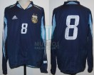 Argentina - 2005 - Away - Adidas - Friendly vs Germany - J. Riquelme