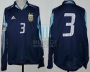 Argentina - 2005 - Away - Adidas - Qualy Germany WC vs Uruguay - J. Sorin