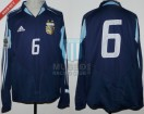 Argentina - 2005 - Away - Adidas - Qualy Germany WC vs Uruguay - W. Samuel
