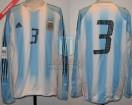 Argentina - 2005 - Home - Adidas - Qualy Germany WC vs Brasil - J. Sorin
