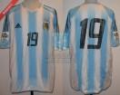 Argentina - 2005 - Home - Adidas - Qualy Germany WC vs Bolivia - E. Cambiasso