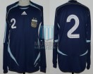 Argentina - 2006 - Away - Adidas - Friendly vs Croacia - N. Burdisso