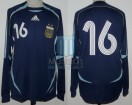 Argentina - 2006 - Away - Adidas - Friendly vs Croacia - P. Aimar