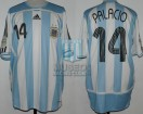 Argentina - 2006 - Home - Adidas - Germany WC vs Costa de Marfil - R. Palacio